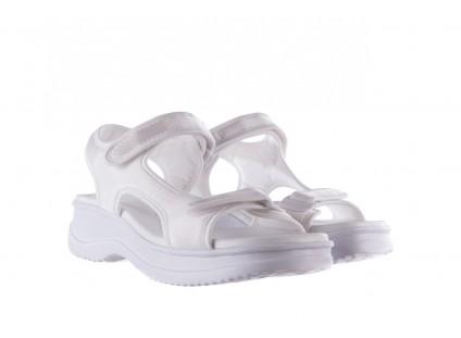 Sandały Azaleia 320 323 White 19,Biały, Materiał