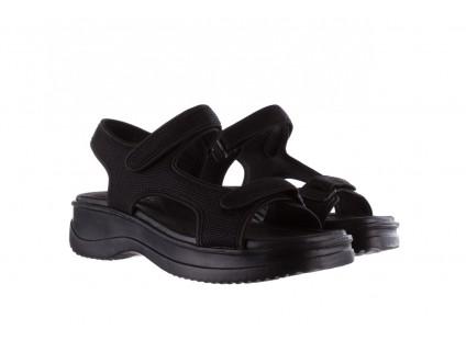 Sandały Azaleia 320 323 Black 19, Czarny,  Materiał