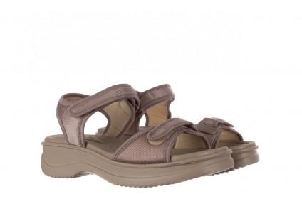 Sandały Azaleia 320 321 Pearl 19, Perłowy, Materiał