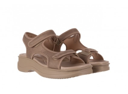 Sandały Azaleia 320 323 Beige 19, Beż, Materiał