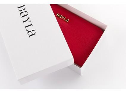 Bayla-165 Portfel Maddy Czerwony