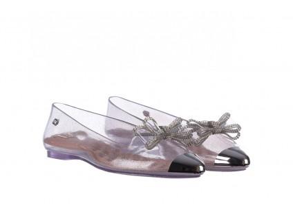 Baleriny T&G Fashion 22-1444997 Prata, Srebro, Guma