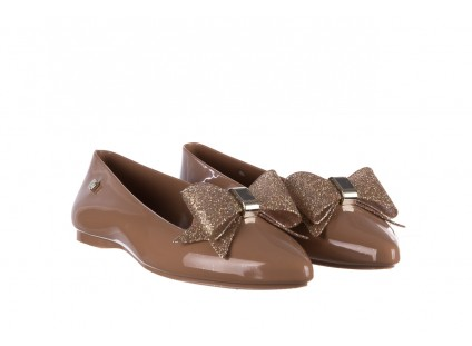 Baleriny T&G Fashion 22-1448315 Camel, Brąz, Guma