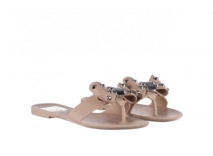 Klapki T&G Fashion 22-1348679 Nude, Beż, Guma