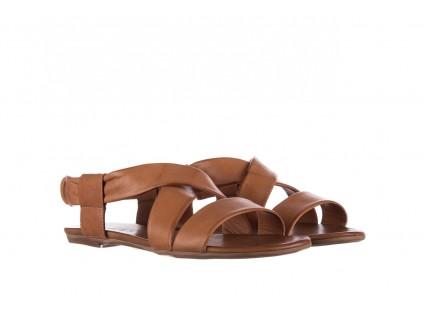 Sandały Bayla-161 061 849 Brąz, Skóra naturalna
