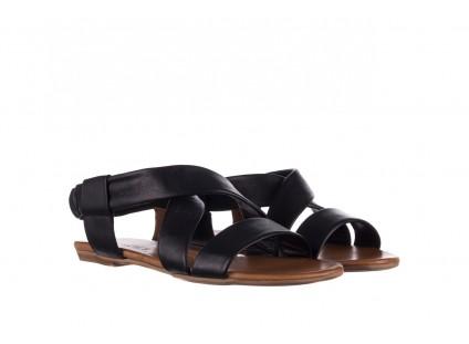 Sandały Bayla-161 061 849 Czarny, Skóra naturalna