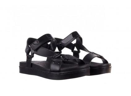 Sandały Dijean 286 276 Black-Black, Czarny, Guma