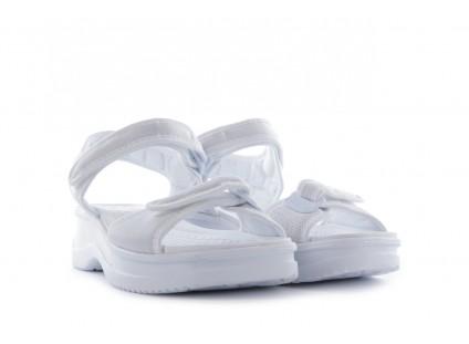 Sandały Azaleia 320 321 White 20, Biały, Materiał