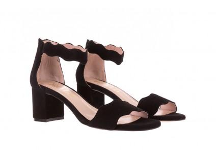 Bayla-097 12 Czarne Sandały