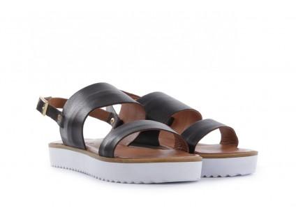 Sandały Bayla-112 428-015.2263 Siyah - Black, Czarny, Skóra naturalna