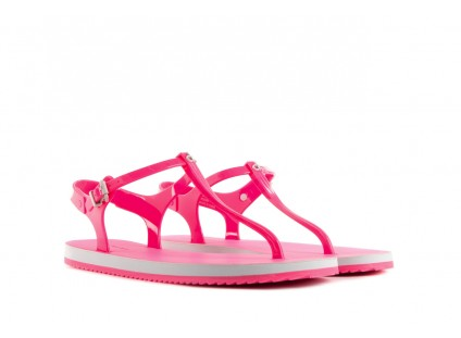 Calvin Klein Jeans Savanna Jelly Fluorescent Pink