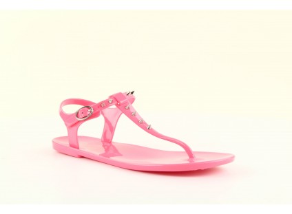 Sandały Gioseppo Bauhaus Pink, Róż, Guma