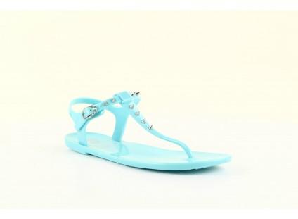 Sandały Gioseppo Bauhaus Turquise, Niebieskie, Guma
