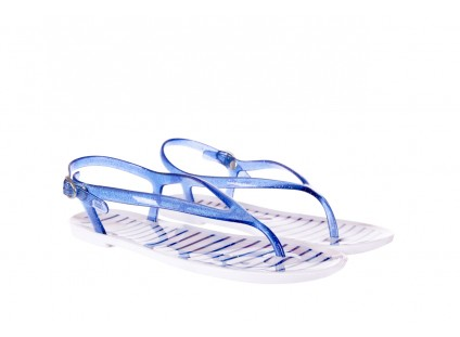 Sandały Gioseppo Sassari Blue, Granat, Guma