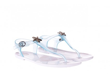 Sandały Gioseppo Tarenta Blue, Niebieski, Guma