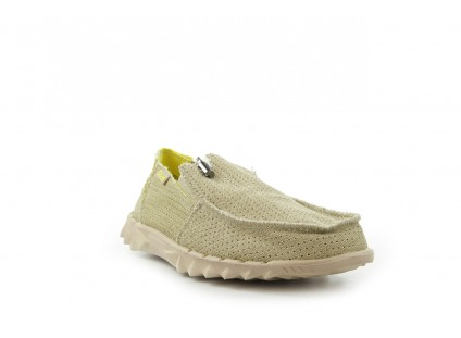 HeyDude Farty Perforated Beige