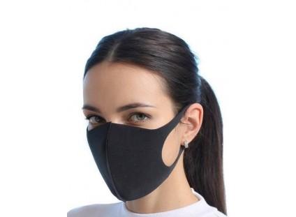 Maska Ochronna Czarna rozm. L, Męska