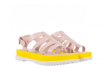 Melissa Flox III AD Pink-Yellow