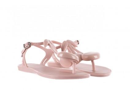 Sandały Melissa Solar IV Ad Pink, Róż, Guma