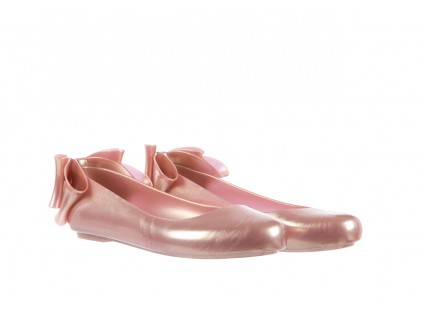 Melissa Space Love Bow II Ad Metallic Pink