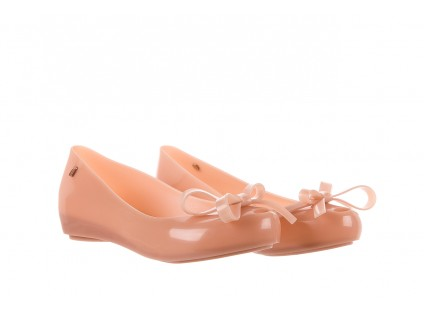 Melissa Ultragirl Bow Ad Light Pink.