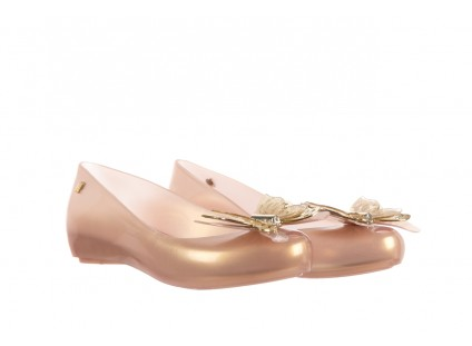 Melissa Ultragirl Fly Ad Pearlized Beige