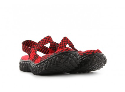 Rock Over Sandal Red-Black