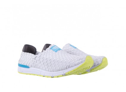 Rock Podium White Green Sole
