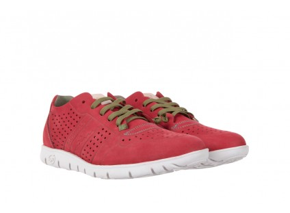 Slowwalk 10061 Nobuck Red