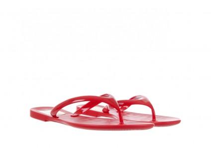 Klapki T&G Fashion 22-114 Red, Czerwony, Guma