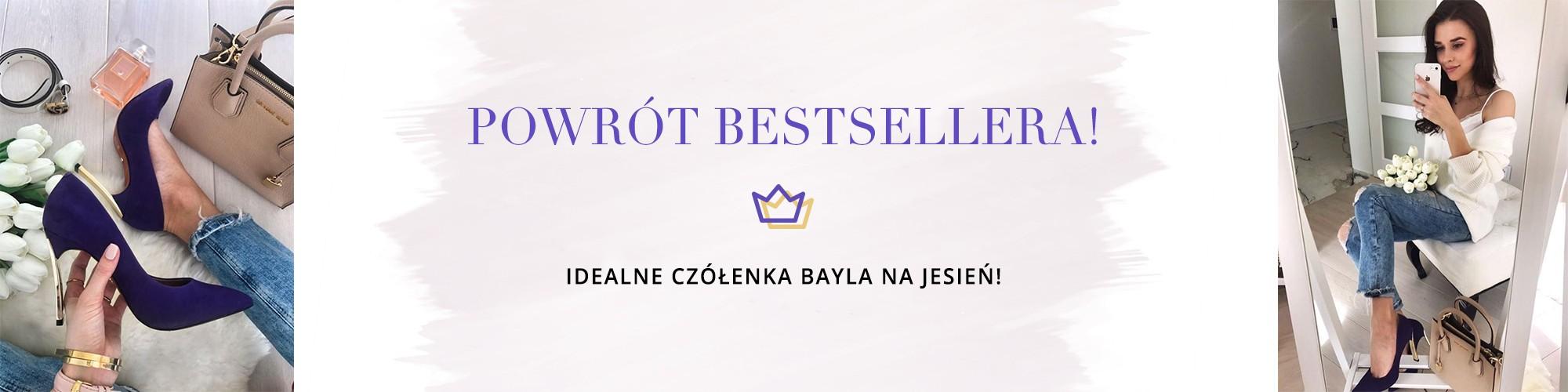 9 nowych kolorów bestsellerowych czółenek Bayla!