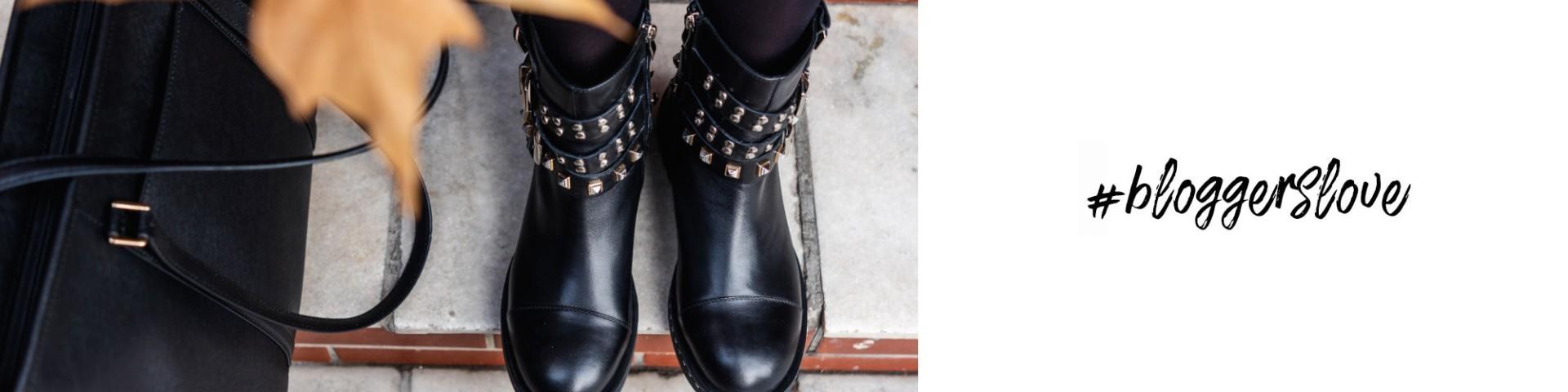 Jak stylizować biker boots? Propozycja Agnieszki z Stylishblogstory.